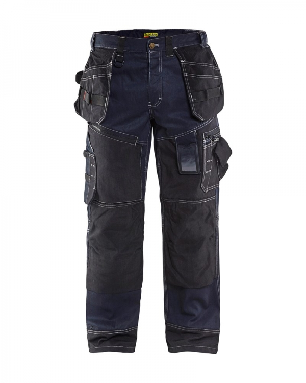 15001140 Denim kniezak en holsterzak